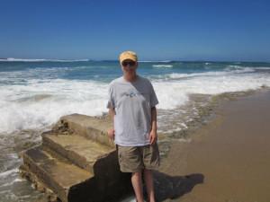 MJO at Step Beach, Rincon PR
