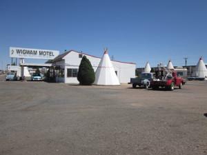 AZ's famous Wigwam Motel, Route 66