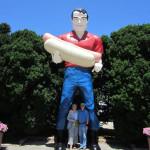 Mark & Marla with a Gemini Giant